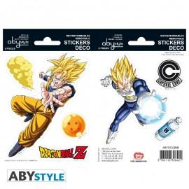 Naklejki- Goku/Vegeta