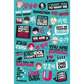 Duży plakat - BTS v3