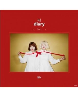 BOLBBALGAN4 - RED DIARY PAGE.1 (MINI ALBUM) album płyta kpop sklep stacjonarny poznań