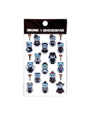 Naklejki - BIGBANG X KRUNK