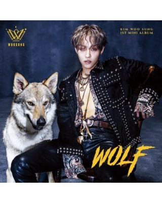 KIM WOO SUNG - WOLF (1ST...