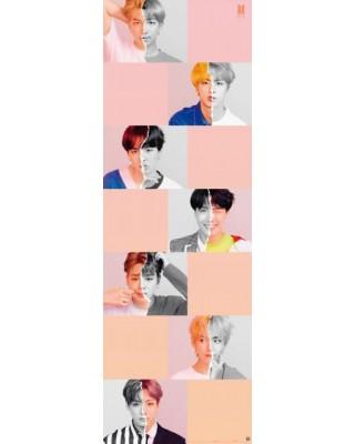 Plakat na drzwi BTS