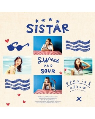 SISTAR - SWEET & SOUR...
