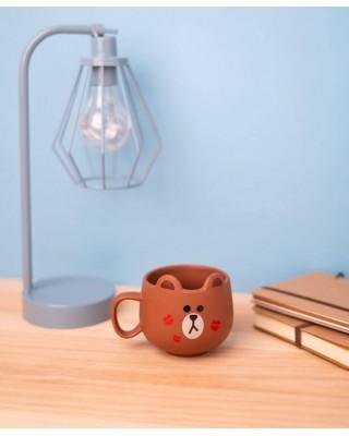 Line Friends Brown - kubek 3D