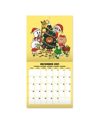 Line Friends - kalendarz...