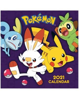 Pokemon - kalendarz 2021