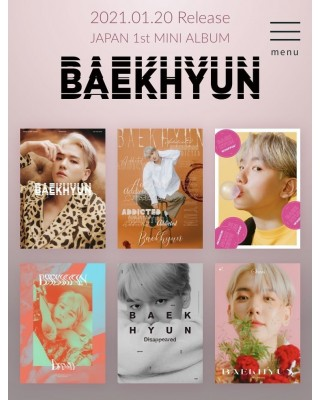 BAEKHYUN 1st Mini Album -...