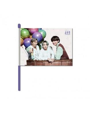 BTS - SOWOOZOO IMAGE FLAG