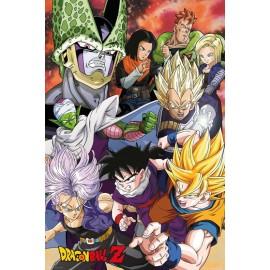 Olbrzymi plakat - Dragon Bll Z