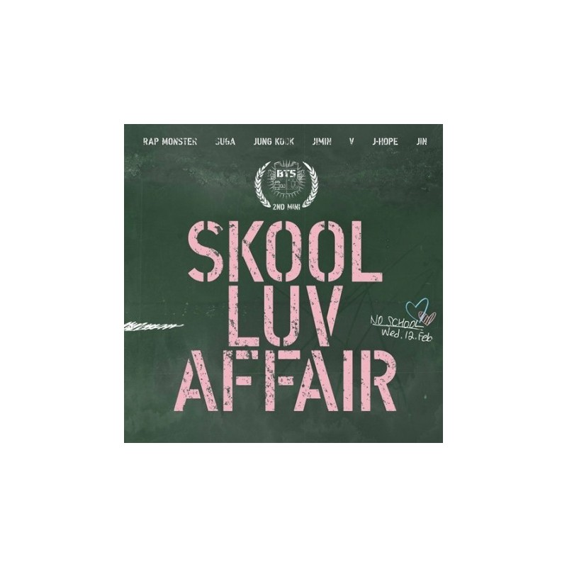 BTS - Skool Luv Affair [2nd mini album]
