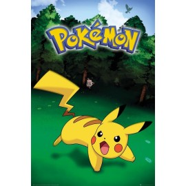 Duży plakat - Pokemon