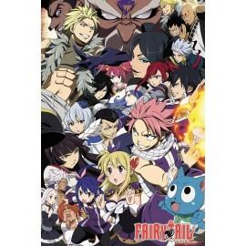 Duży plakat - Fairy Tail v2