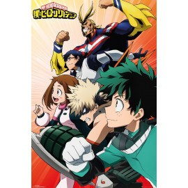 Duży plakat - Boku no Hero Academia v4