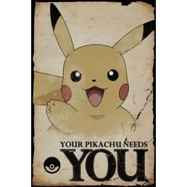 Duży plakat - Pokemon v3