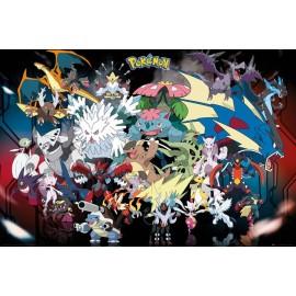 Duży plakat - Pokemon v5