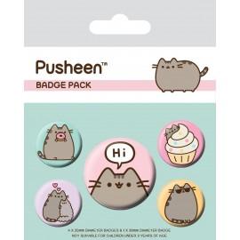 Przypinki - Pusheen Hi