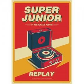 SUPER JUNIOR - Replay (Repackage)